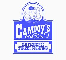 Cammy's Old Fashioned Street Fighting BLUE STENCIL Unisex T-Shirt
