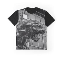 panther statue Graphic T-Shirt