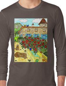 Beautiful Farm of Brigaudière Long Sleeve T-Shirt