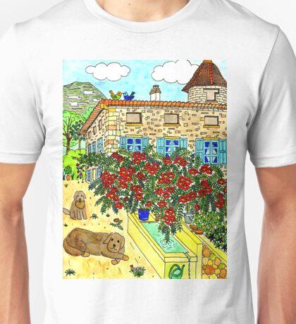 Beautiful Farm of Brigaudière Unisex T-Shirt