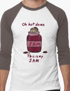 John's Jam Men's Baseball ¾ T-Shirt