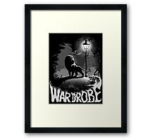 Into The Wardrobe Framed Print