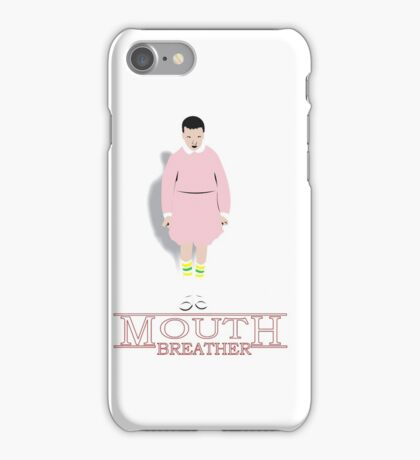 Mouth Breather Stranger  iPhone Case/Skin