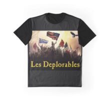 Les Deplorables T-Shirt For Donald Trump Supporters !  Graphic T-Shirt