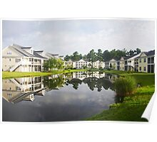 Morning in South Carolina, USA Poster