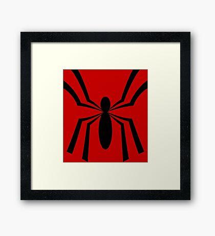 Ben's Other Spider Framed Print