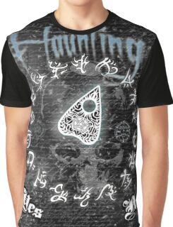 Haunting Halloween Ouija Board Graphic T-Shirt