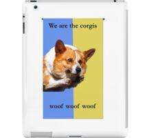 House Corgi iPad Case/Skin