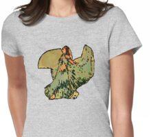 Joyous Dancer Womens Fitted T-Shirt
