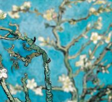 Van Gogh Almond Blossoms Tilt Shift Sticker