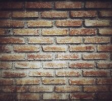 Old grunge block brick wall background with retro effect filter - texture by mutipear
