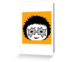 KISS - Spaceman Ace Frehley chibi Greeting Card