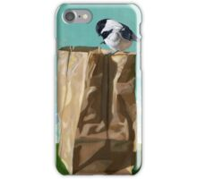 What's In The Bag? - original realistic painting iPhone Case/Skin