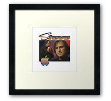 Steve Jobs 90s Tee Framed Print