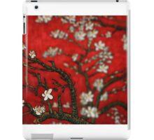 Van Gogh Red Almond Blossoms Tilt Shift iPad Case/Skin