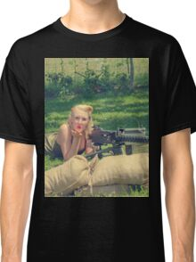 WWII Pinup Classic T-Shirt