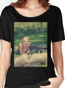 WWII Pinup Women's Relaxed Fit T-Shirt