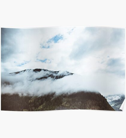 Clouds Over the Hill Poster