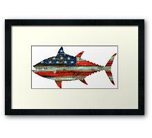 USA Merica Tuna Framed Print