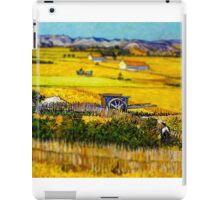 Van Gogh Hay Stack Tilt Shift iPad Case/Skin