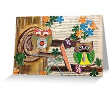 Mustache you who is calling? Greeting Card