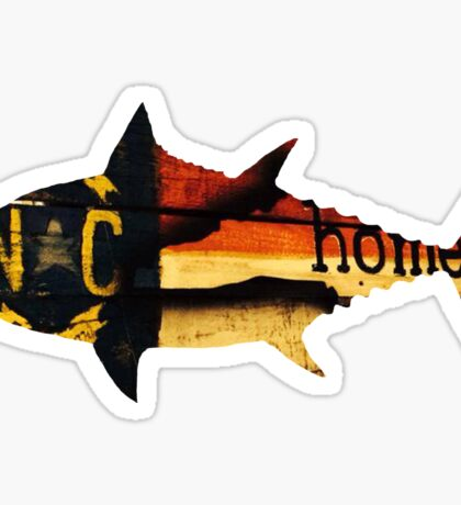 Tuna North Carolina Sticker