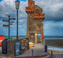 The Rhenish Tower at Lynmouth by Chris Thaxter