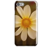 White flower. iPhone Case/Skin