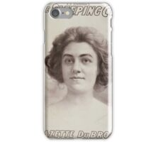 Performing Arts Posters AQ Scammons The sleeping city 0403 iPhone Case/Skin