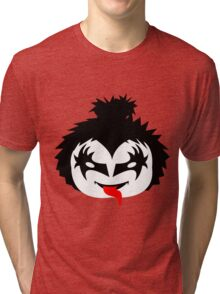 KISS - The Demon Gene Simmons Chibi Tri-blend T-Shirt