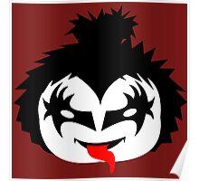 KISS - The Demon Gene Simmons Chibi Poster