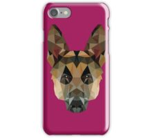 Geo Collection: German Shepard iPhone Case/Skin