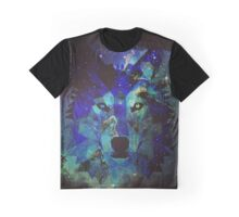 Space Wolfie Graphic T-Shirt
