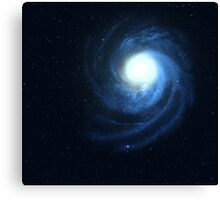 Spiral galaxy. Canvas Print