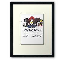 Danger Days  Framed Print
