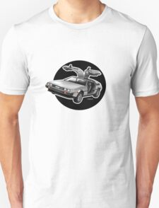 Delorean Iconic sportscar.. Unisex T-Shirt
