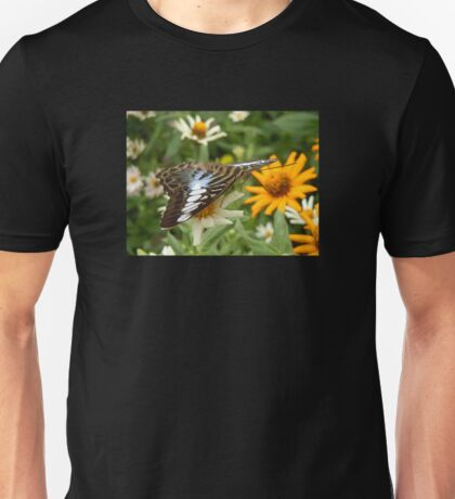 Blue Clipper Butterfly Unisex T-Shirt
