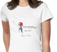 Holden Caulfield Womens Fitted T-Shirt