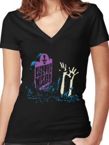 Electric Wizard - Tombstone Women's Fitted V-Neck T-Shirt