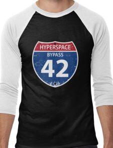 Hyperspace Bypass 42 Men's Baseball ¾ T-Shirt