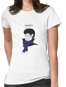 Sherlock Sociopath Womens Fitted T-Shirt