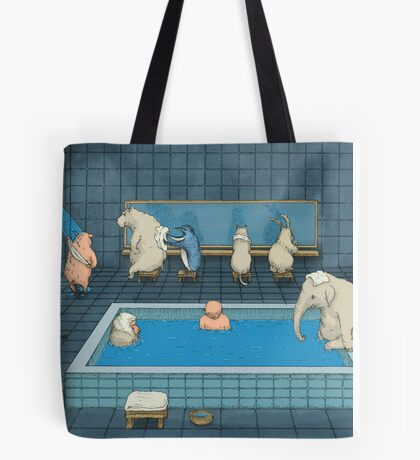 The Bathers Tote Bag