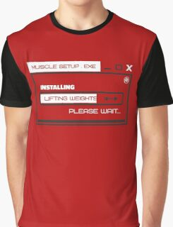 MUSCLE_SETUP.EXE Graphic T-Shirt