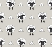 Sheep (Natural Colour Background) Sticker
