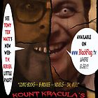 Kount Kracula's Review Showcase -TV Show Promo Poster  by TexWatt