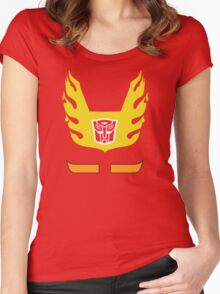 Hot Rod - Transformers 80s Women's Fitted Scoop T-Shirt