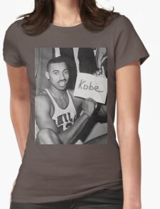 Kobe's 80 point game and Wilt's 100 point game Mashup  Womens Fitted T-Shirt