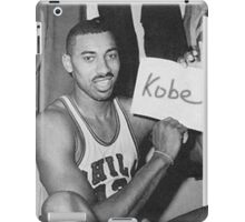 Kobe's 80 point game and Wilt's 100 point game Mashup  iPad Case/Skin