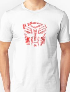 Transformers - Autobot Wordtee Unisex T-Shirt