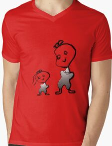 sisters babies Mens V-Neck T-Shirt